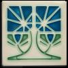 Blue Petunia Tile