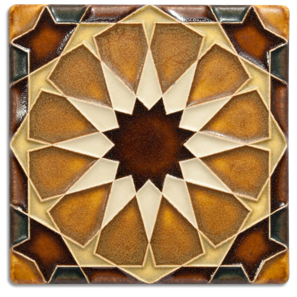 Brown Alahambra Tile