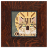 Catnip Tile in Oak Frame