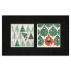 Charley Harper Holiday Framed Tile Set