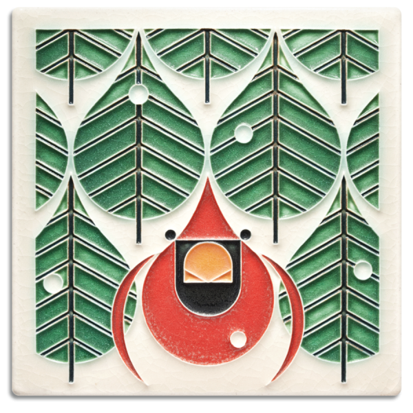 Coniferous Cardinal Tile