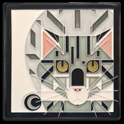 Grey Catnip Tile