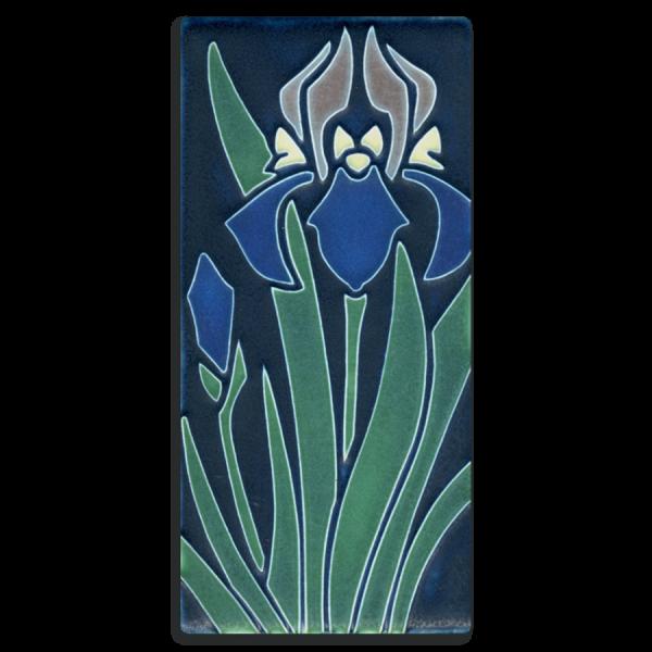 Indigo Iris Tile