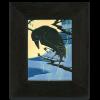 Raven Tile in Ebony Frame