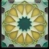 Periwinkle Alahambra Tile