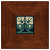Petunia Tile in Legacy Frame