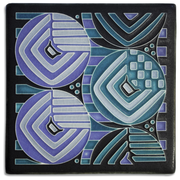 Turquoise Margaret Tile