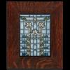 Waterlilies in Oak Frame