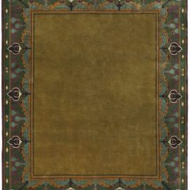 The Wyndam Border Rug Design