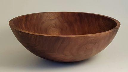 """18"""" Round Black Walnut Bowl"""