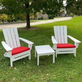 Quattro Folding Adirondack 5-Piece Set