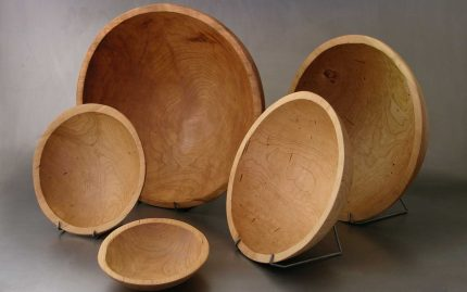 Round Cherry Bowls