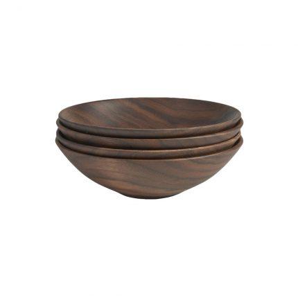 Black Walnut Champlain Bowl Set
