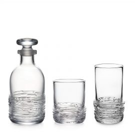 Simon-Pearce-Echo-decanter-whiskey-tumbler
