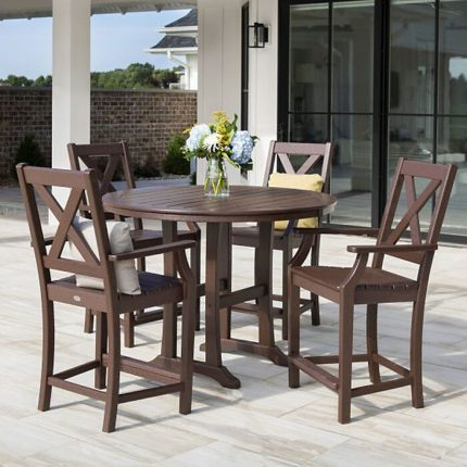 Polywood Braxton Dining Collection 5 piece Set