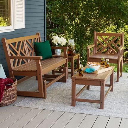 Polywood Chippendale Seating Collection