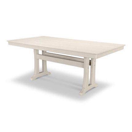 "Farmhouse 37 x 72"" Dining Table in Sand"