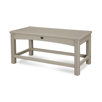 Polywood Club Coffee Table in Sand