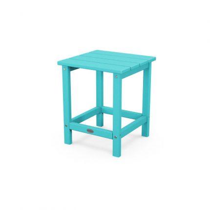 """Polywood Long Island 18"""" Side Table in Aruba"""