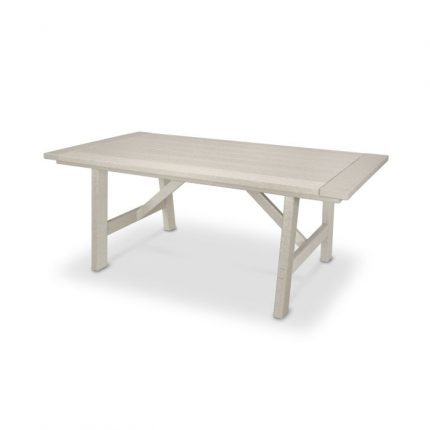 Polywood Rustic Farmhouse 39x75in Dining Table