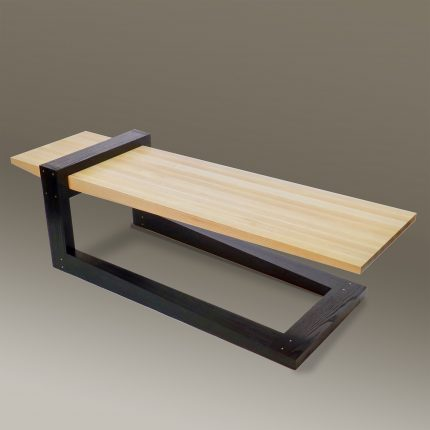 BR-Fulcrum White Table
