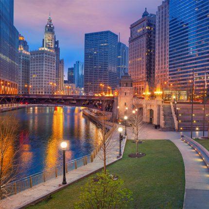 Chicago Twilight Zen Puzzle