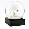 Lab in the Woods Snow Globe