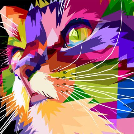 Rainbow Kitty Peapod Puzzle