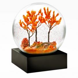 Autumn Snow Globe