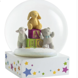 Baby Blocks Snow Globe