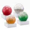 Mini Christmas Jewels Snow Globes (Set of 4)