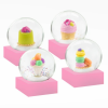 Mini Desserts Snow Globes (Set of 4)