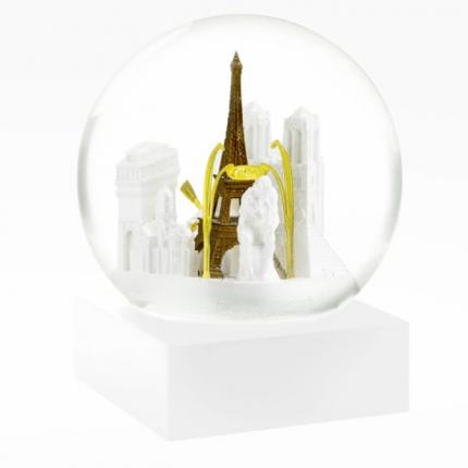 Paris Snow Globe