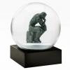 Thinker Snow Globe