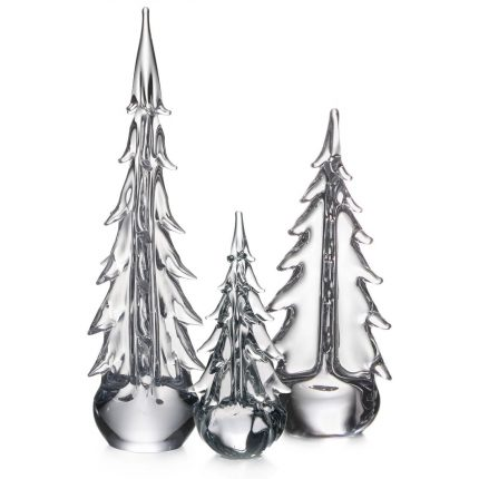 Traditional Evergreen Tree Trio