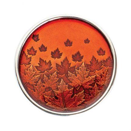Autumn Maple Leaf Purse Mirror
