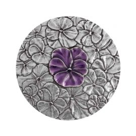 Pansy Purse Mirror