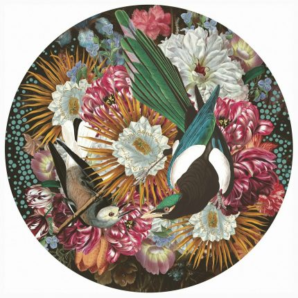 Magpie Wooden Jigsaw Puzzle by Alexandra Gallagher