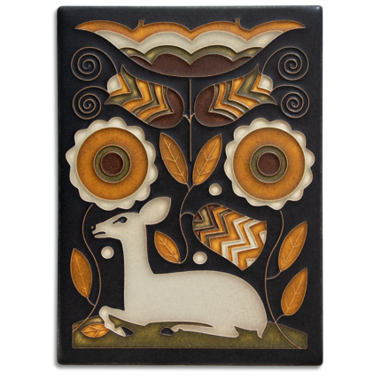 6x8 Vienna Woods Tile in Brown