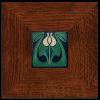 Tulip Bud Tile in 3in Legacy Frame