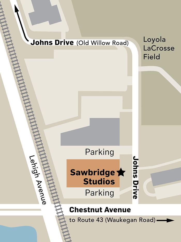 Sawbridge-Map