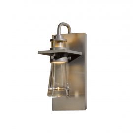 Erlenmeyer Medium Outdoor Sconce in Coastal Burnished Steel