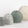 Funky Rock Designs Stone Vases