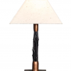 Black Bamboo Breeze Lamp