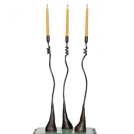 Cats & Jasmine Candlesticks