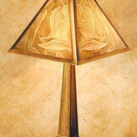 Hosta Table Lamp