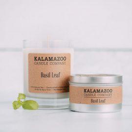 Kalamazoo Basil Leaf Soy Candle