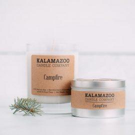 Kalamazoo Campfire Soy Candle