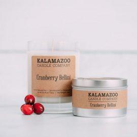 Kalamazoo Cranberry Bellini Soy Candles
