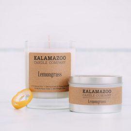 Kalamazoo Lemongrass Soy Candle